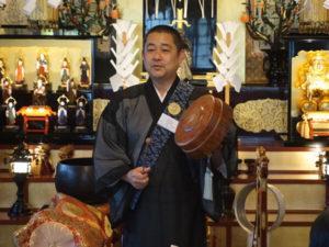 本光寺の尾藤住職